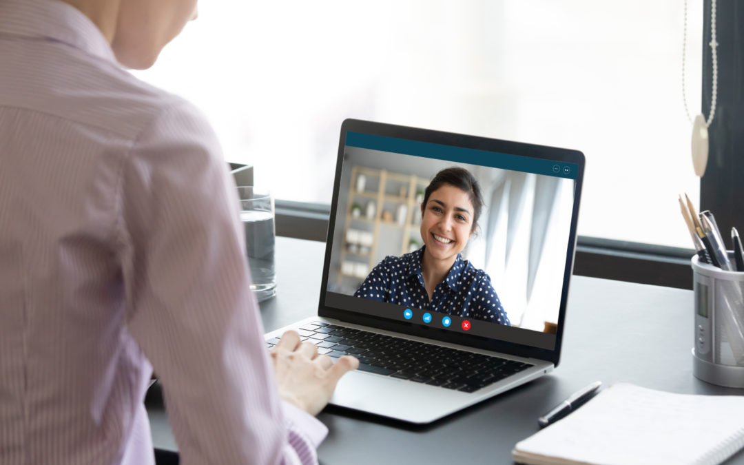 Réaliser un entretien d'évaluation par écran interposé